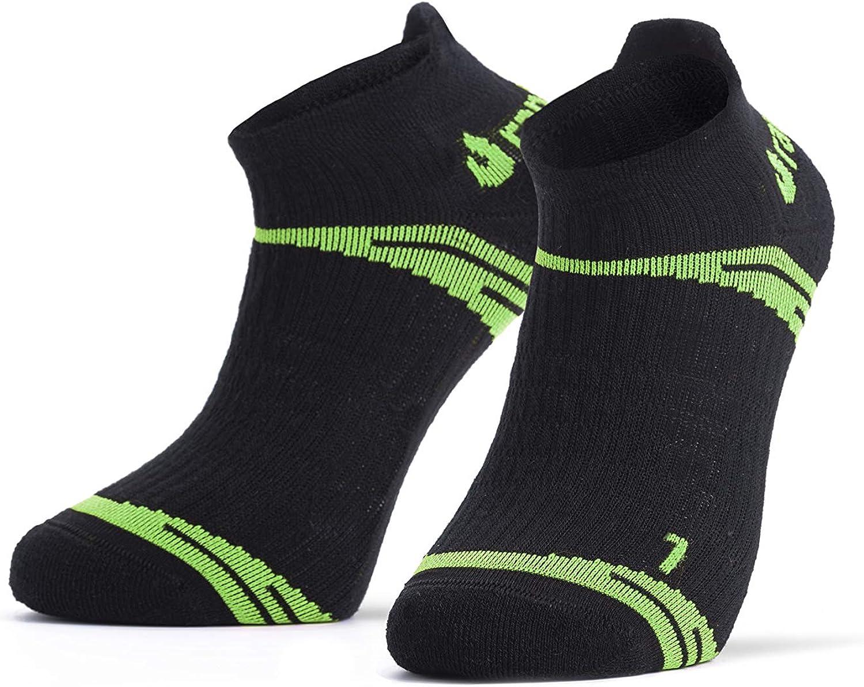 Rantrack 2 Pairs No-Show Running Socks