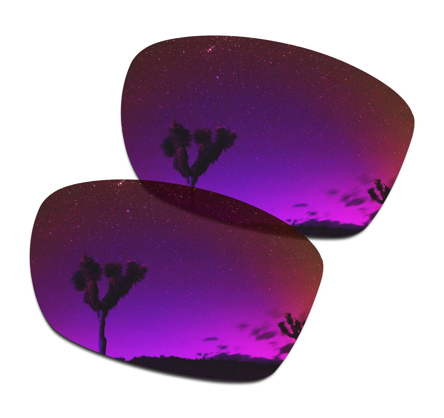 SmartVLT Men's Midnight Sun Replacement Lenses for Oakley Jupiter Squared Sunglass