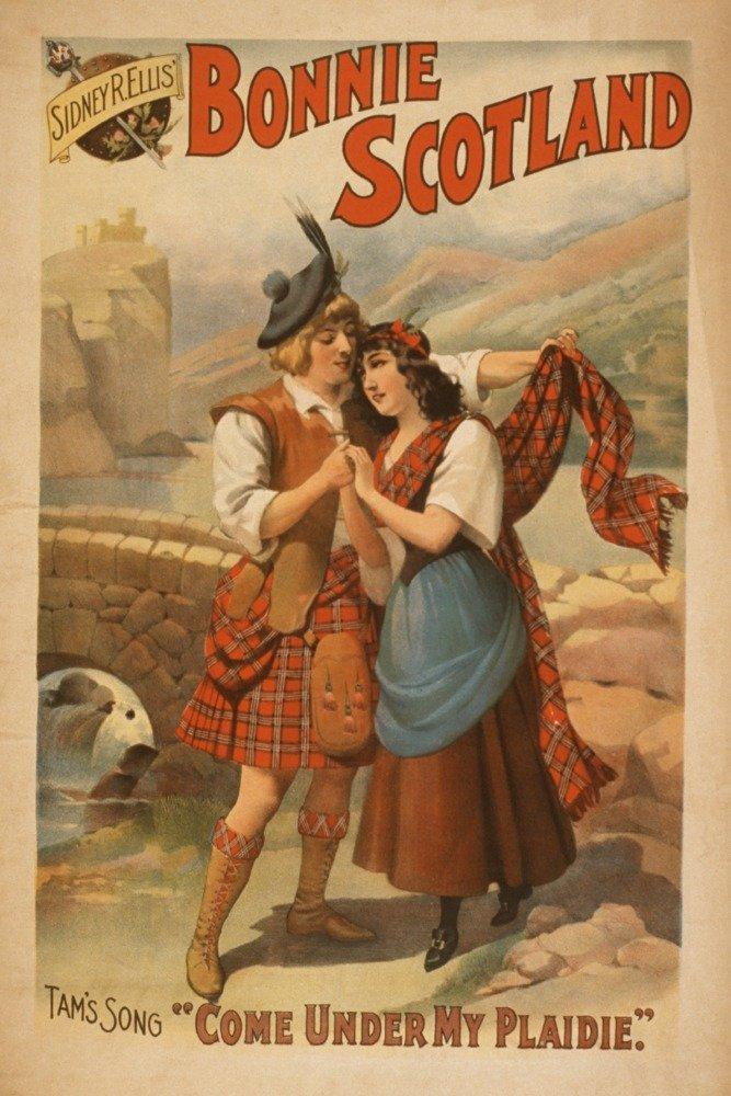 Sidney R。Ellis ' Bonnie Scotlandスコットランド再生ポスター# 2 36 x 54 Giclee Print LANT-4260-36x54 36 x 54 Giclee Print  B01MG3ODHV