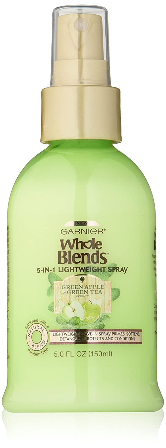 Garnier Whole Blends Green Apple and Green Tea 5-in-1 Hairspray. Detangling Hair, Leave-In Hair Care, Paraben-Free, 150 ml L'Oreal - Hair Care