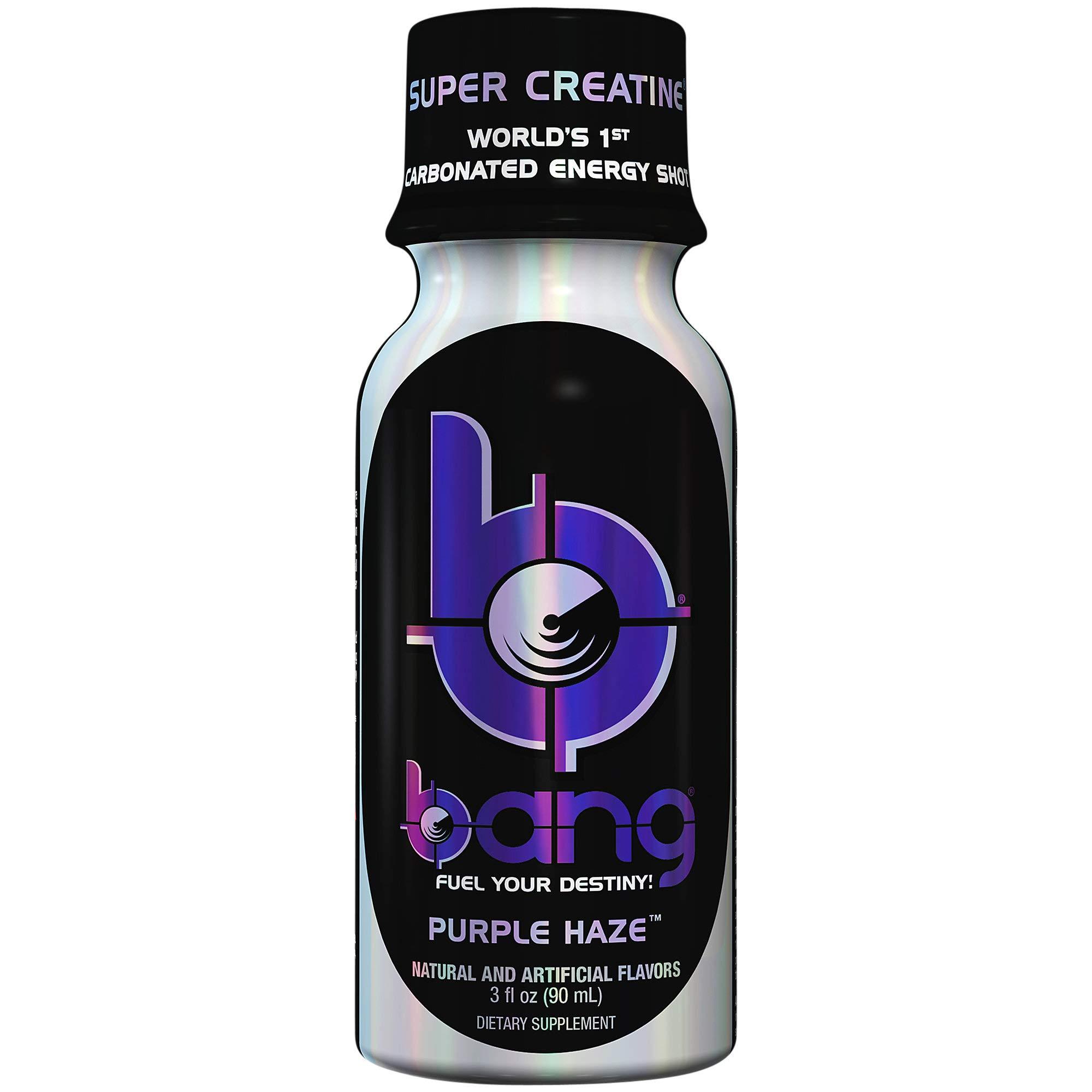 VPX Bang Energy Shots, Purple Haze, (24 Pack) by VPX (Image #1)