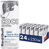 Energético Red Bull Energy Drink, Coco e Açaí, 250ml (24 latas)