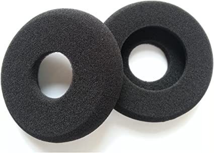 Black Earpads Cover foam for GRADO SR60 SR80 SR125 Alessandro M1 M2 Replacement