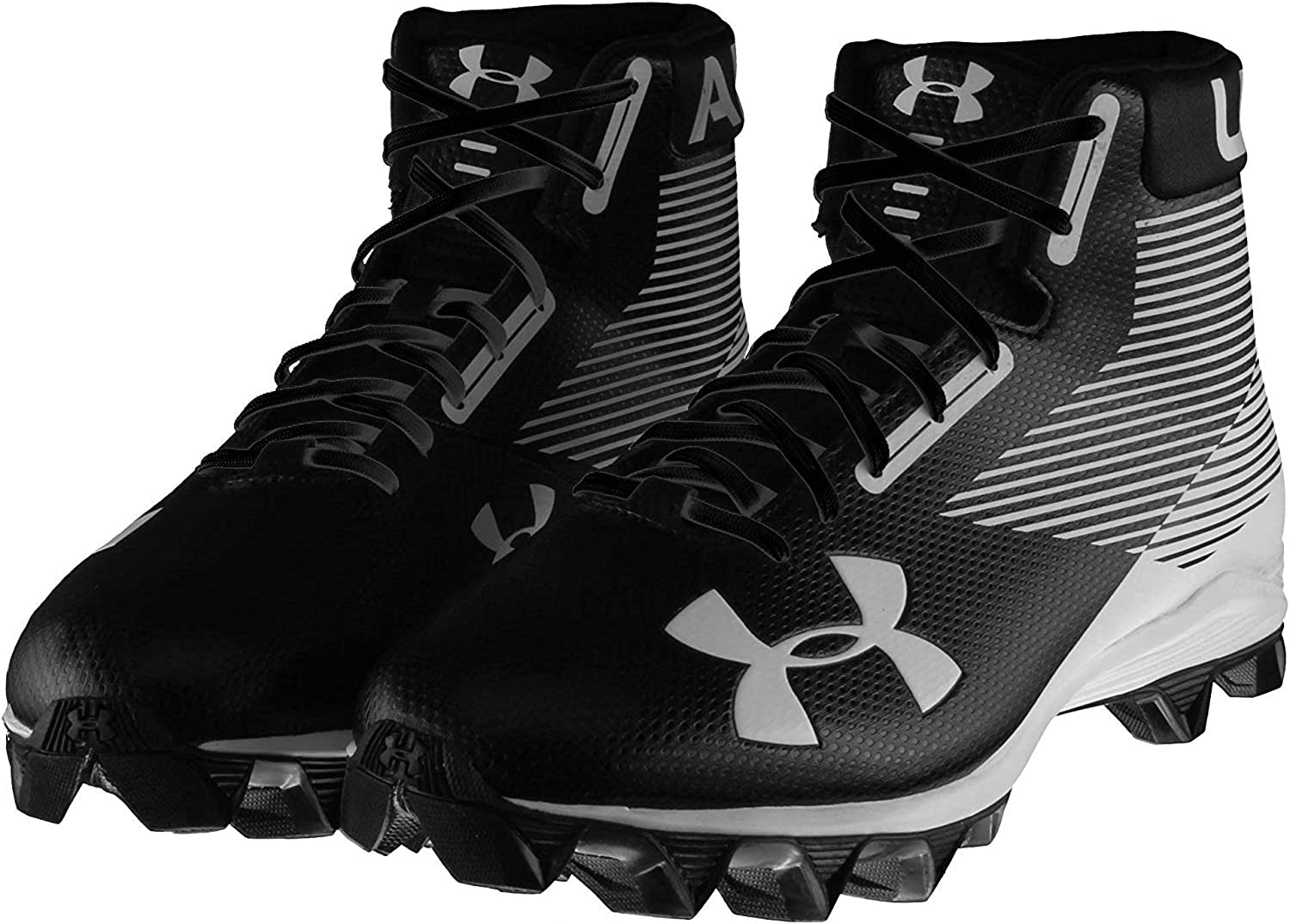 Hammer Mid Rm Football Cleat Wide Black