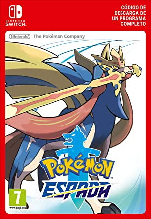 Pokémon Espada [Switch - Código de descarga]: Amazon.es: Videojuegos
