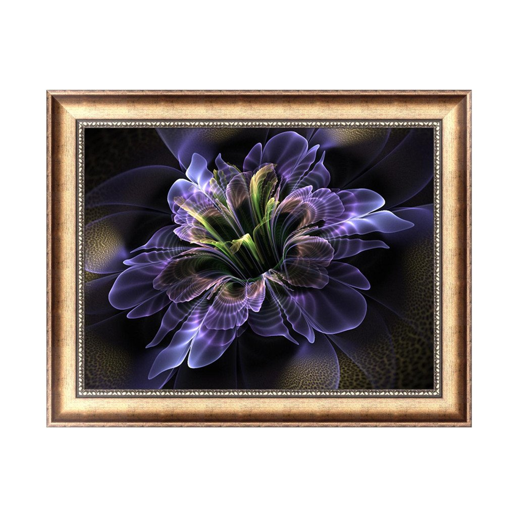 BloomingJS DIY 5D Abstract Flower Diamond Embroidery Painting Cross Stitch Home Decor Craft
