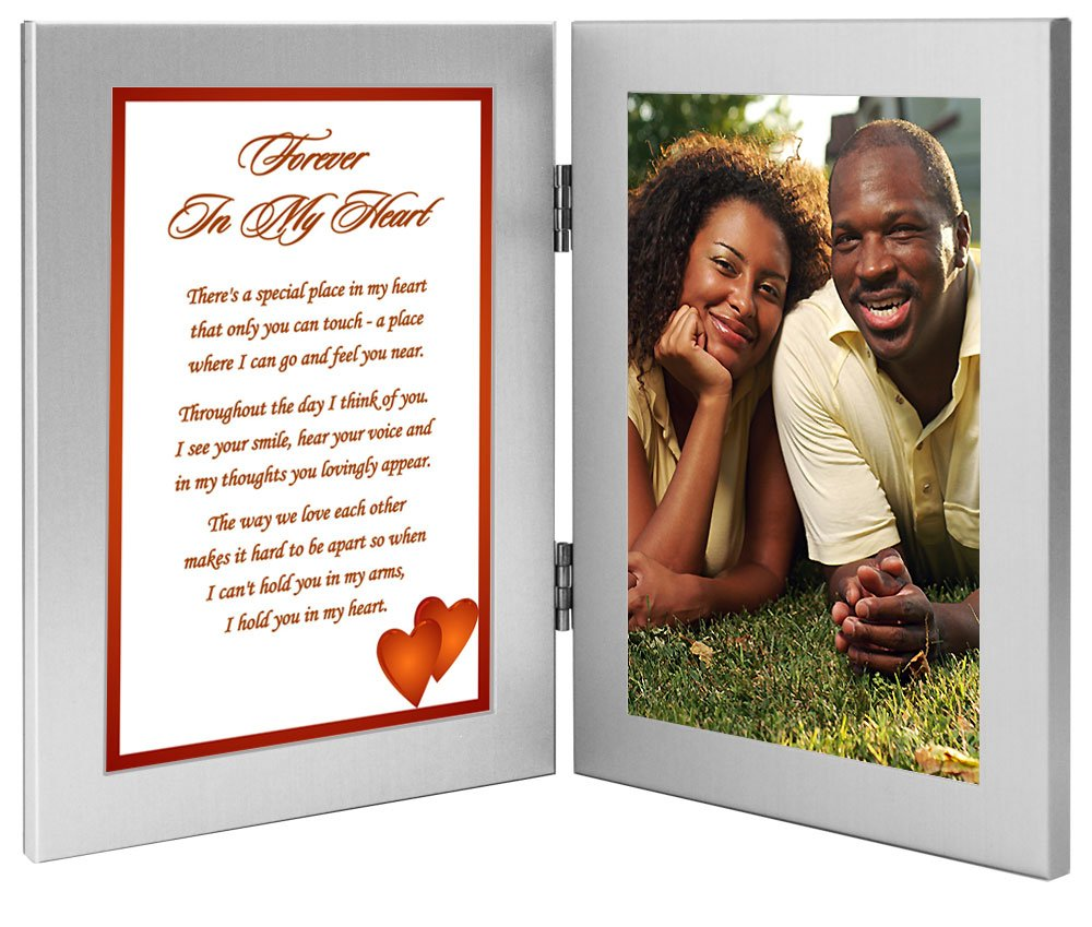 ''Forever In My Heart'' Romantic Gift for Wife, Husband, Girlfriend, or Boyfriend, Birthday, Christmas or Anniversary - Add Photo by Poetry Gifts (Image #2)