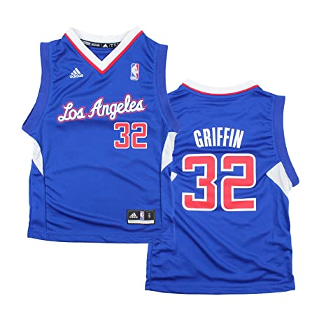 32c423f73ee Los Angeles Clippers Blake Griffin   32 NBA Youth Big Boys Replica  Alternate Jersey - Blue