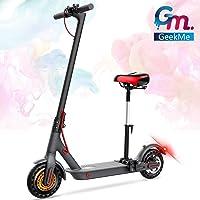 GeekMe Scooter patinete electrico adultos con asiento desmontable