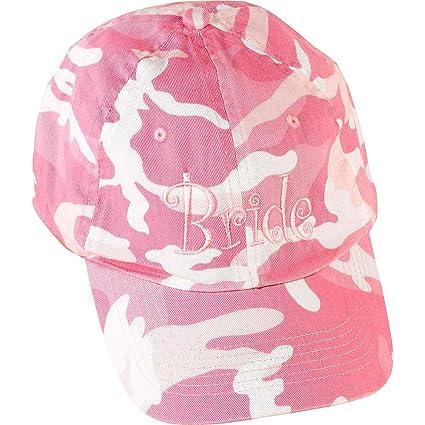 Amazon.com: ELEGANI - Gorro de béisbol de camuflaje rosa ...