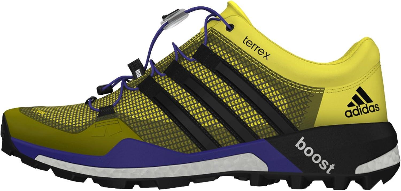 Adidas Terrex Boost EVA - Zapatillas de Running para Hombre, Amarillo (Bright Yellow/Black/Night Flash), 7.5 B(M) US: Amazon.es: Zapatos y complementos