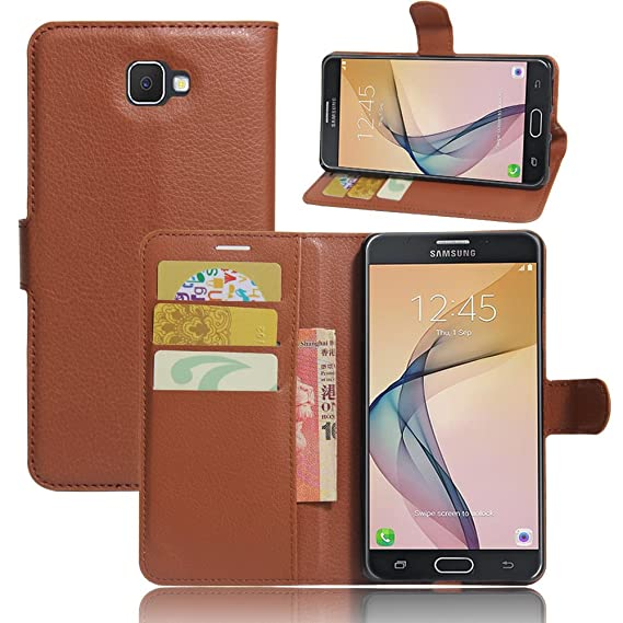 8d2b6724ca1 Amazon.com  LuckQR Galaxy J7 Prime Wallet Phone Case