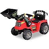 Tracteur Pelleteuse 12 Volts - Tracteur électrique enfants