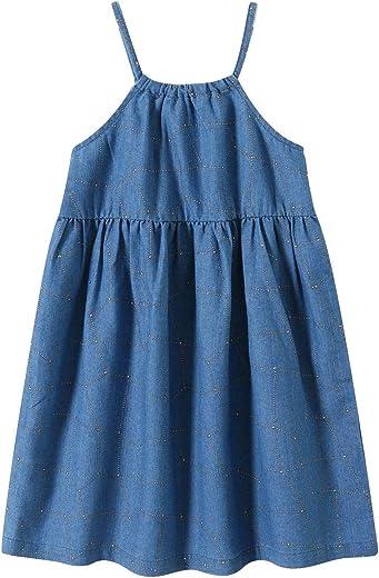 فساتين Sofinee Place للفتيات قصيرة الأكمام أو ملابس بدون أكمام للأطفال الصغار (3 سنوات إلى 12 سنة