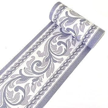 amazon com yifely moistureproof pvc wallpaper border peel \u0026 stickimage unavailable