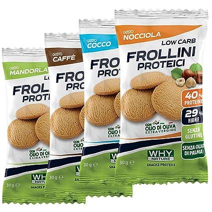 biscotti al glutine per dieta chetogenica