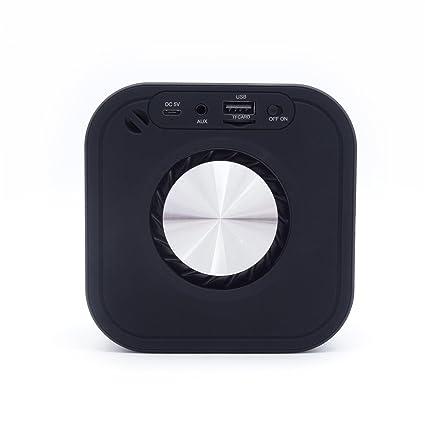Cajas acústicas Altavoz Bluetooth impermeable portátil para el coche de la oficina en el hogar (