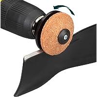 Multi-Sharp 1301 multifunctioneel slijpopzetstuk voor boormachines, voor het slijpen van grasmaaiermessen, spades…