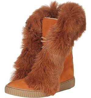 Hollert Femmes Peau de Mouton Semelle Bottines HT-3916 Bottes à Lacets  Bottes Chaussures d ed8eb9b8c3f6