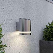 SolarCentre Truro Solar Outdoor Wall Light