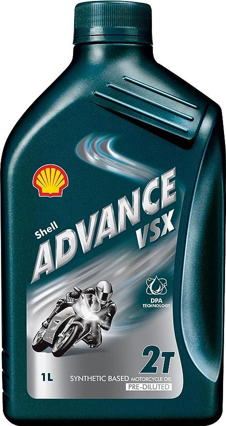 Shell Advance VSX 2 Aceite de Motor 1 L Motocicleta ...