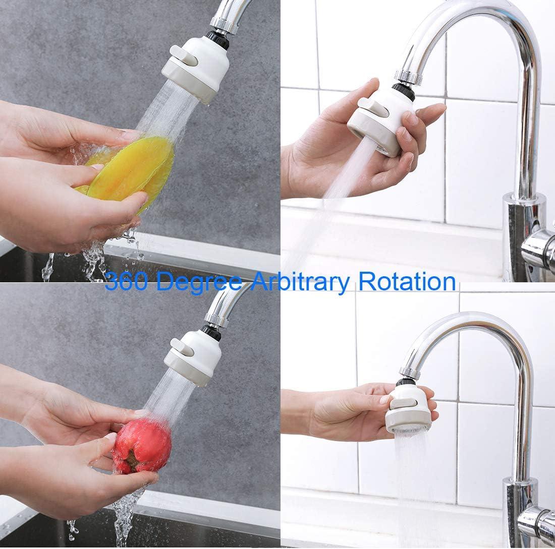 filtro de agua para cocina dispositivo de ahorro de agua Samno Cici Grifo aspersor a presi/ón para el hogar grifo a prueba de salpicaduras