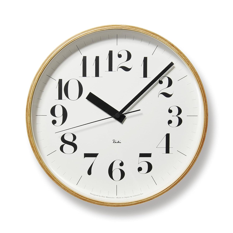 Lemnos RIKI CLOCK RC 電波時計 WR08-27 B002BS2HTG