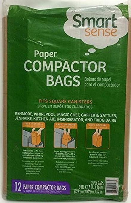 Smart Sense 12 Paper Compactor Bags