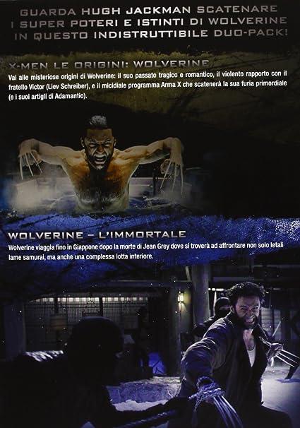 Wolverine - LImmortale + X Men Le Origini Wolverine Cofanetto 2 Dvd Italia: Amazon.es: Marco Beltrami, Harry Gregson - Williams, Danny Huston, Hugh Jackman, Famke Janssen, Ian Mckellen, Ryan Reynolds, Liev Schreiber,