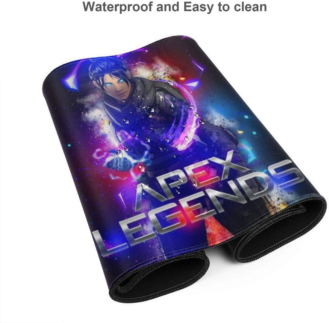 Ap-Ex Legends Extended Gaming Mouse Pad Thick Large Computer Keyboard Mousepad Mouse Mat One Size