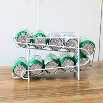 Elegante dispensador de bebidas de soda, dispensador de dispensadores, dispensadores de 10 tamaño estándar de 12 oz latas de soda y para alimentos ...
