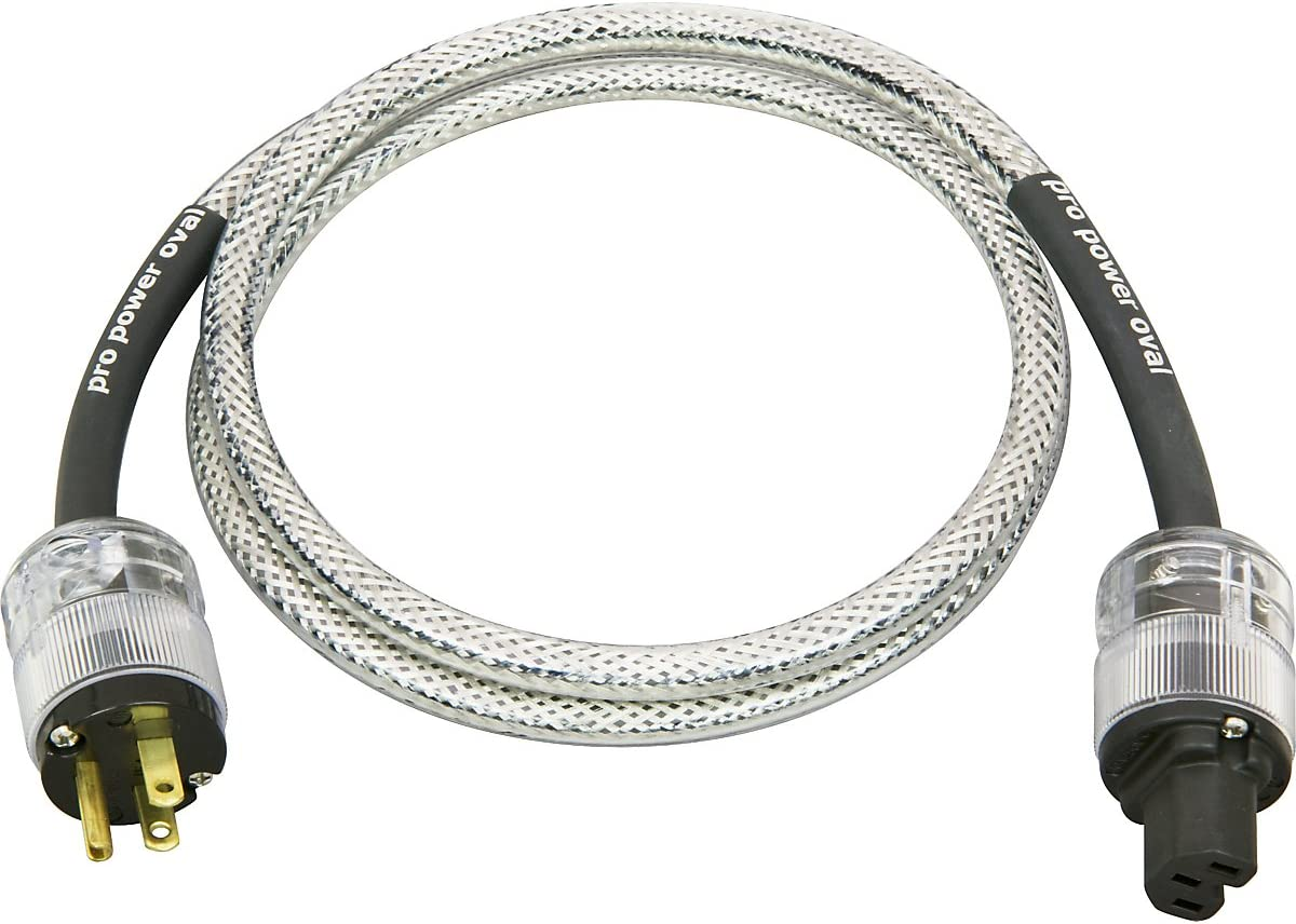 Analysis Plus Pro Power Oval Power Cable 4 ft.