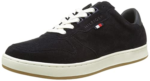 Mens T2285obias 9c Low-Top Sneakers, Blue Tommy Hilfiger