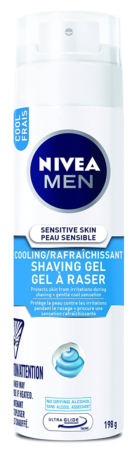 NIVEA MEN Anti-Irritation Shaving Gel, 198 g 072140817510