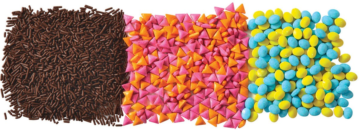 Wilton POPS Animal Sprinkle Set, 3-Count