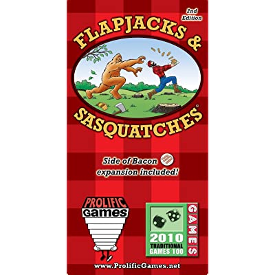 Prolific Games Flapjacks & Sasquatches: Toys & Games