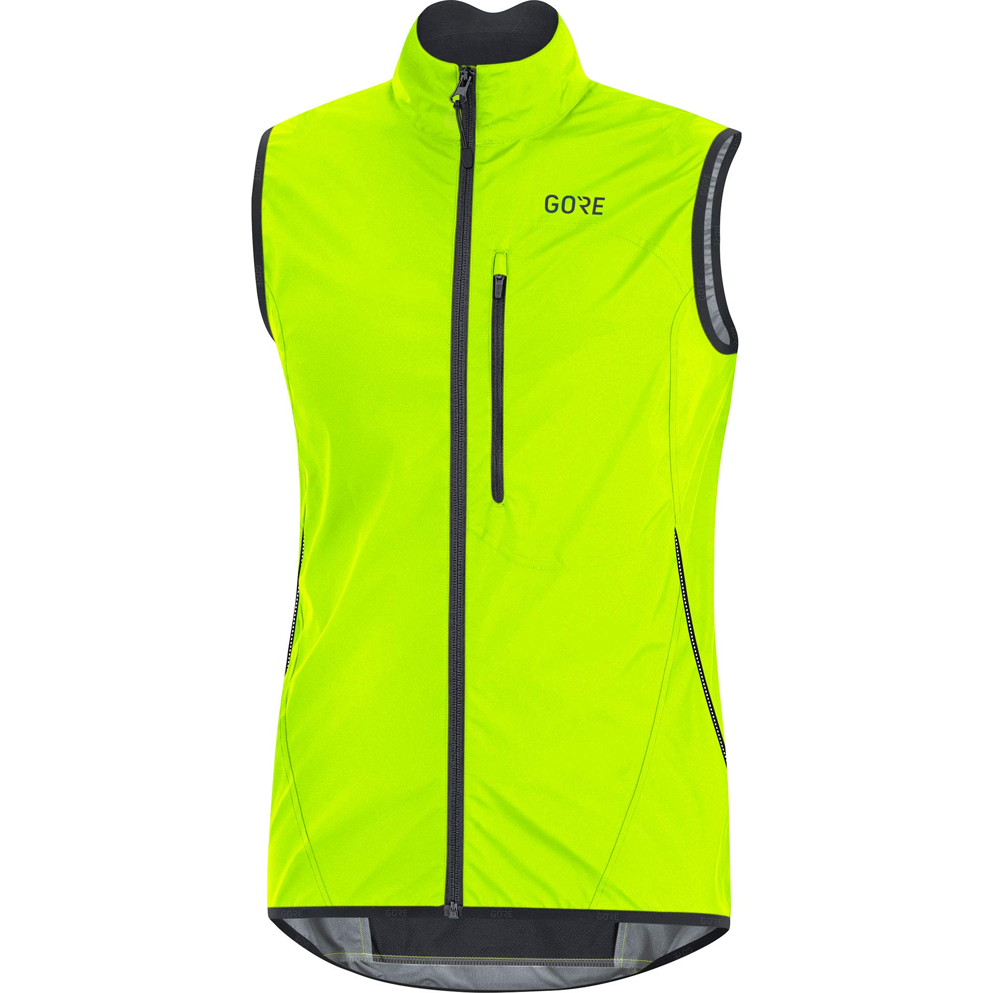 GORE Wear C3 Men's Vest GORE WINDSTOPPER, L, Neon Yellow/Black by GORE WEAR