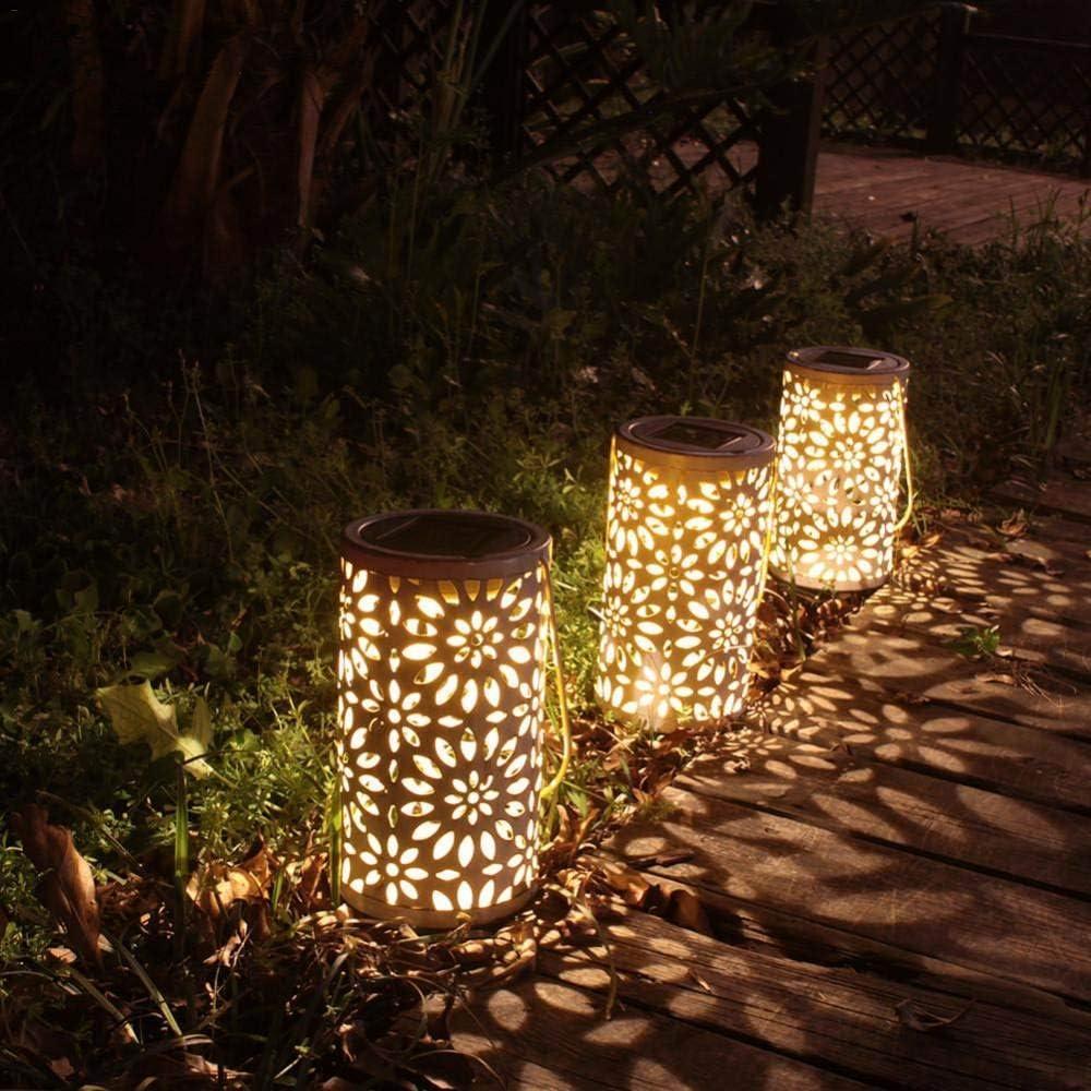 luci paesaggistiche Esterne ZFXXN 1PCS Lampade da Giardino Impermeabili solari luci paesaggistiche Esterne luci Decorative luci notturne luci di Terra per Strade corsie luci da Prato