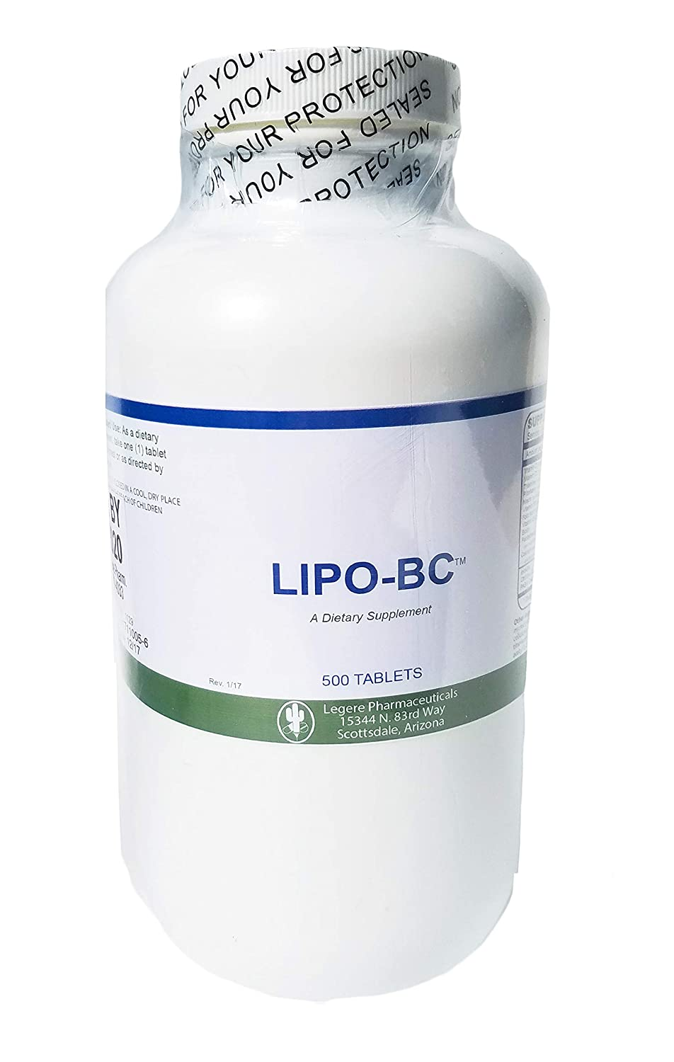 Amazon Com Lipo Bc 500 Tablets Pro Size Mobilize Fat With