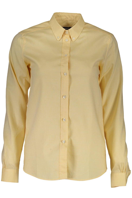 Gant 1403.432133 Camisa con Las Mangas largas Mujer Amarillo 768 40: Amazon.es: Ropa y accesorios