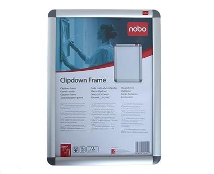 356923a8a25 Nobo 1902213 A3 Aluminium Clipframe - Grey  Amazon.co.uk  Office Products