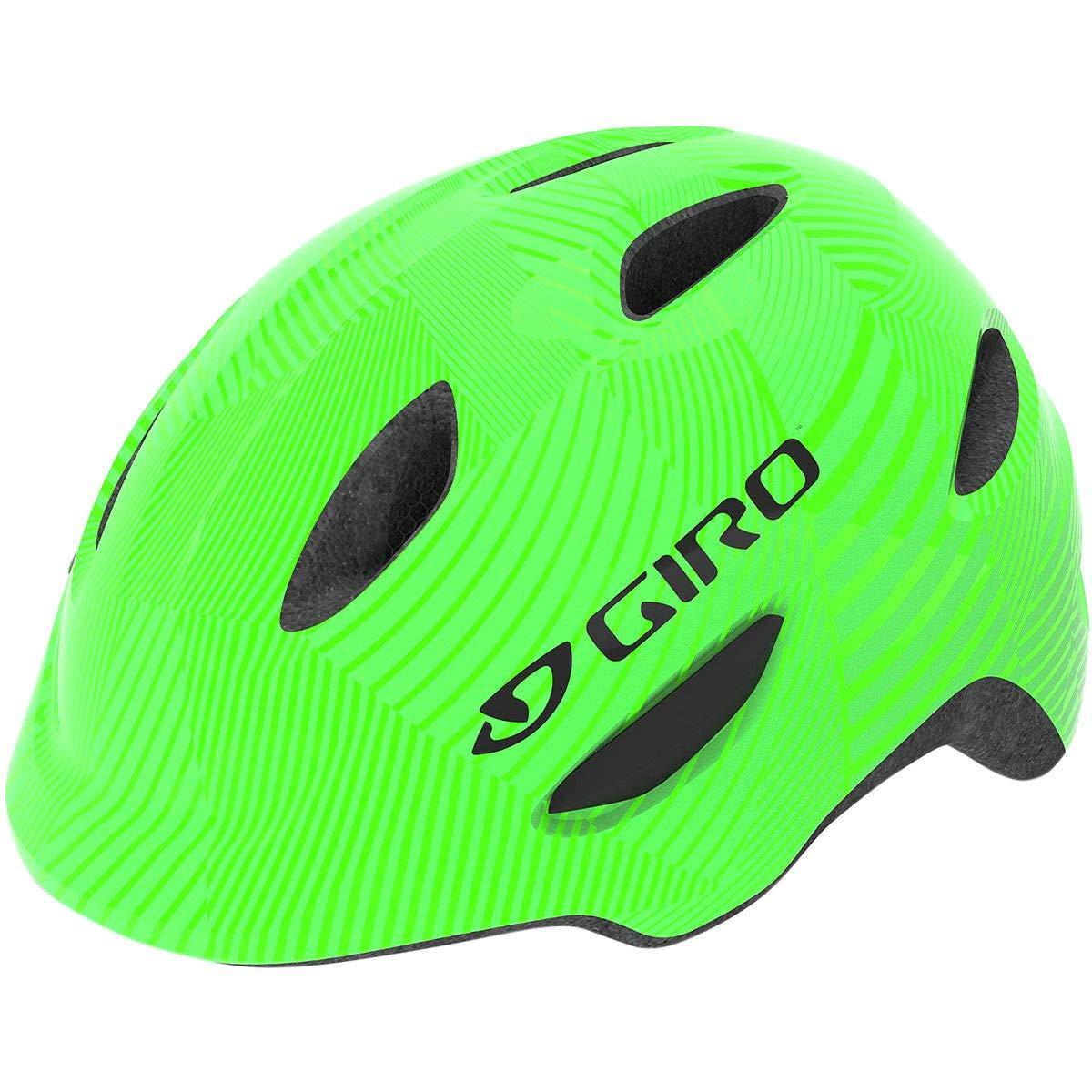 Giro Scamp MIPS Helmet - Kids' Green/Lime Lines, XS