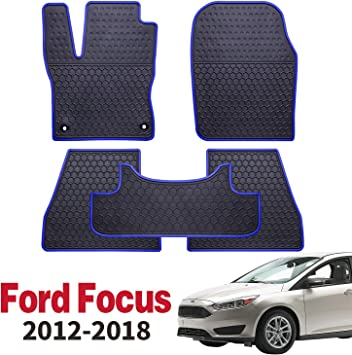 FORD FOCUS HATCHBACK  HEAVY DUTY All Weather RUBBER CARPET Car Floor MATS