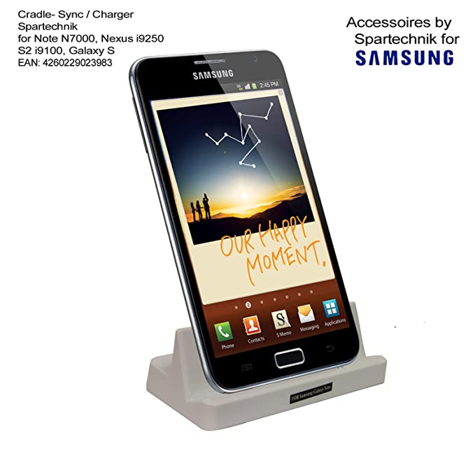 Estación – Blanco – para Samsung Note Note 2 i9220 N7000, Galaxy Nexus i9250,