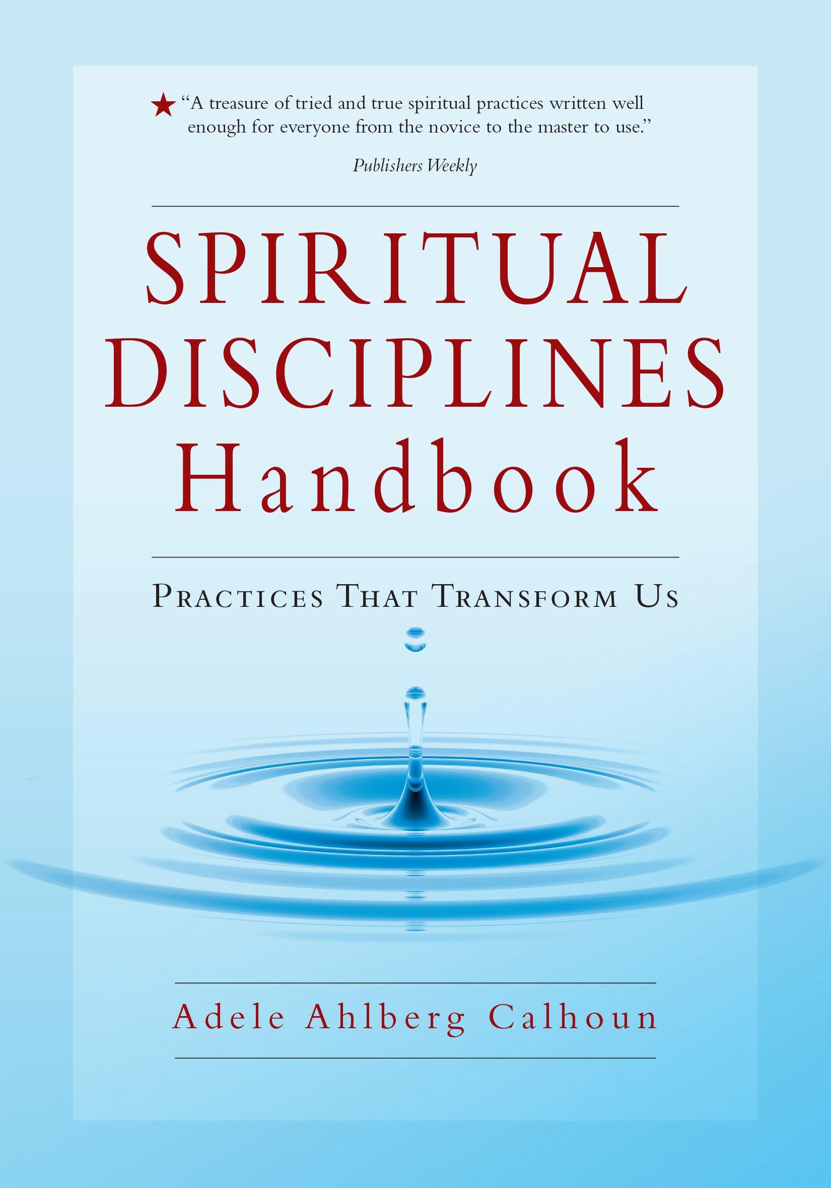 Spiritual Disciplines Handbook Practices Transform product image
