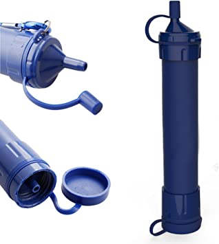 Personal filtro de agua purificador de agua paja, portátil ...