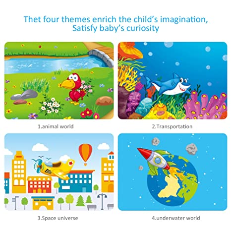Samber Linternas Infantiles Proyector de Linternas de Juguetes Educativos Regalo de Navidad para los Niños