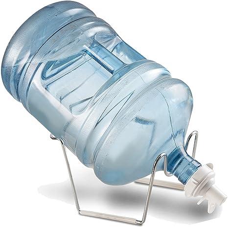 5 gallon dispensador de enfriador de botella de agua soporte 55 mm válvula de libre de BPA acero inoxidable accesorio de soporte no fuga o óxido ...