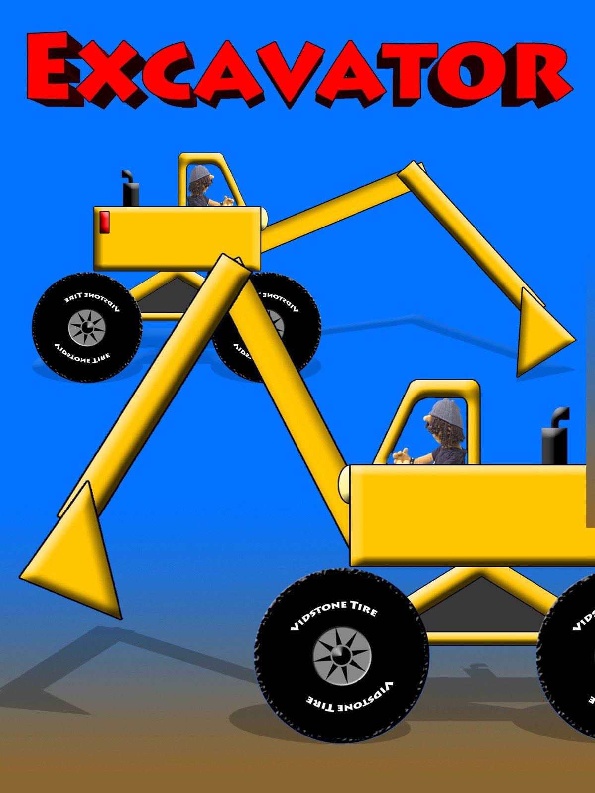 Excavator on Amazon Prime Video UK