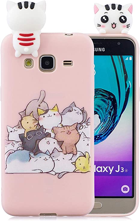 cover samsung j3 gatti